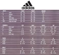 Adidas Sizing Chart Nw Soccer Locker