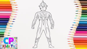 ultraman mebius coloring pages for kids how to color ultraman coloring pages fun for kids
