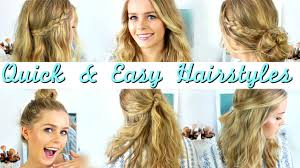 Quick Easy Heatless Hairstyles How To Style Medium Length Hair