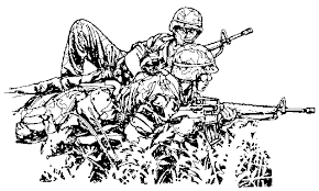 Small Picture Coloring Page Army coloring pages 5