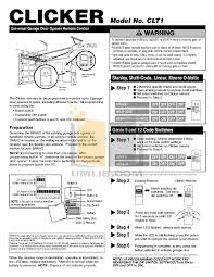 garage chamberlain other liftmaster 1255 2r garage door openers pdf page preview and liftmaster garage
