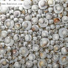 glass wall tiles glass mosaic resin conch tiles penny round chips bathroom tile walls and floors
