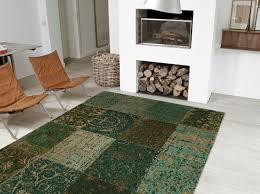 louis de poortere vintage rug multi dark green copy