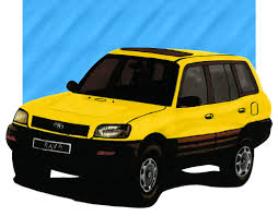 Toyota Rav4. Illustrated by: Sergio Estrada. | Paintings ...