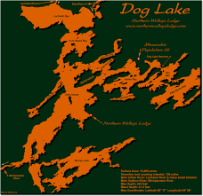 White Lake Ontario Depth Chart Map Of Dog Lake