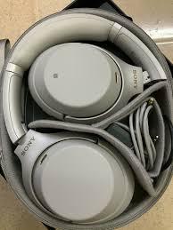HCM] Cần bán tai nghe bluetooth Sony WH-1000XM3 like new 99% chính hãng -  5.500.000đ