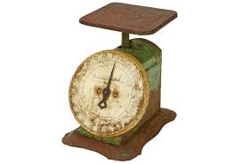 Small Picture Rustic Vintage Kitchen Scale Omero Home