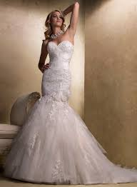 maggie sottero fit and flare wedding dresses stylish eve
