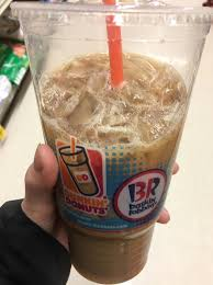 a large iced latte with skim milk at dunkin donuts is only 140 calories and 13g of protein