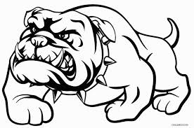 Small Picture Bulldog Coloring Pages For Kids Coloring Page Coloring Coloring