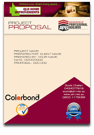 Queensland Home Improvements Project Proposal - Gnt Graphic Services