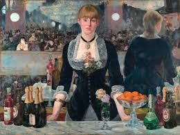 drinking it in manet s a bar at the folies bergère 1882