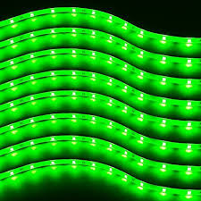 Green Led Light Strips Best Zento Deals 60 Packs Of Trimmable 60cm Green LED Car Flexible