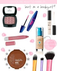 starter kit for makeup beginners on a budget