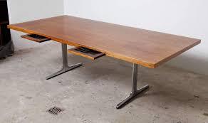 mid century modern office desk. executive midcentury modern office or architect desk mid century o