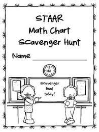 New Gr 4 5 Staar Math Chart Scavenger Hunt For Tx Teachers