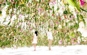 Small Picture immerses visitors in an interactive floating flower garden