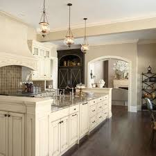 Delighful Kitchen Ideas Cream Cabinets With Colored Design Pictures Remodel Decor To Modern