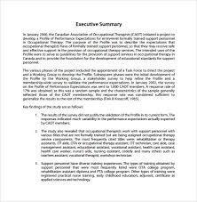 9 Summary Report Templates Samples Examples Format Sample