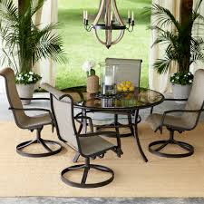 sears outdoor dining table. garden oasis providence 5 piece swivel dining set - limited availability | shop your way: online shopping \u0026 earn points on tools, appliances, electronics sears outdoor table