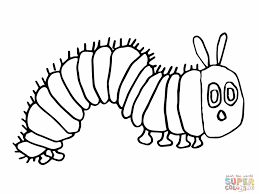 Very Hungry Caterpillar Coloring Pages With Eric Carle Download Free
