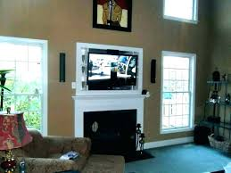 mounting tv over fireplace mounting above fireplace hanging over fireplace hanging above tv mounting over fireplace ideas