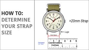 Fossil Women S Belt Size Chart 3 Easy Steps To Find Your Strap Size The Watch Prince