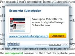 Infolinks In Text Advertising Review Alistair Lattimore