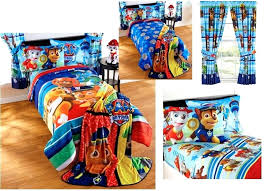 paw patrol bed sheets new kids girls boys paw patrol bedding bed in a bag comforter set 3 prints paw patrol bedding set double