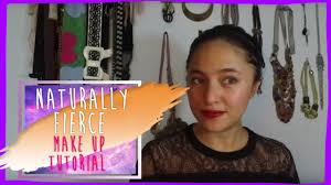 marshanda naturally fierce make up tutorial
