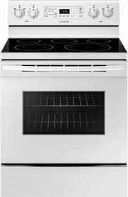 Samsung 59 cu ft Convection Freestanding Electric Range White