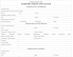 New Customer Account Form Template New Customer Account Form Template