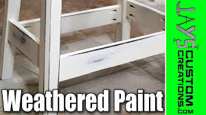 how to antique white furniture. How To Get An Antique/Weathered Paint Finish - 131 Antique White Furniture U