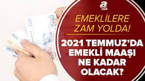 Emeklilere yeni zamlar yolda! SSK Bağkur emekli maaşı 2021 Temmuz zammı ile  ne kadar olacak? En az...
