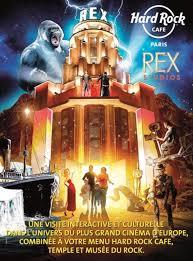new deal hard rock cafe paris and rex studiosenjoy a meal at hard rock cafe paris and a visit of rex studios