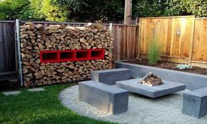 Small Picture Firewood And Garden Backyard Landscaping Ideas Home Decorating