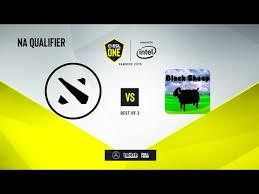 Fighting Pepegas vs <b>Black</b> Sheep, <b>ESL One</b> Hamburg 2019 QL, bo3 ...