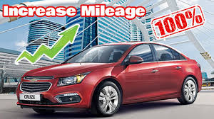 100% Working Trick to Increase Mileage of Chevrolet Cruze - YouTube
