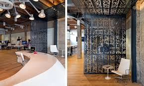 Image Concrete The Company Giant Software Pixels In San Francisco Ordered The Design Studio Plus The Task Of Designing Modern Office Furniture For Their Office In Ofdesign Eclectic Office Equipment Concrete And Wood Dominate The Interior