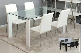 modern glass dining room tables. Stunning Glass Topped Dining Room Tables And Lovable Modern Dinner Table N