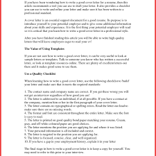 Cover Letter Part 5 Perfect Resume How To Make A Cover Letter Photo