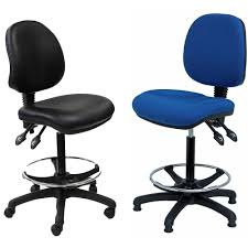 industrial office chairs. Delighful Chairs Highrise Industrial Office Chairs With Castors Or Glides Inside K