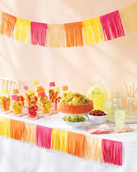 Mexican Themed Kitchen Decor Mexican Fiesta Party Ideas Martha Stewart