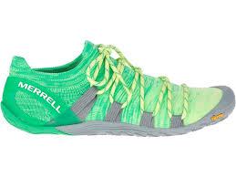 Merrell Vapor Glove 4 3d Shoes Women Sunny Lime Beetle