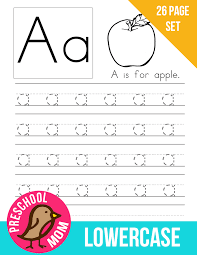 Alphabet Preschool Printables -