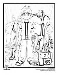 Small Picture Ben 10 Coloring Pages Printable Ben 10 coloring pages