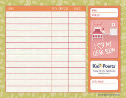 Chore Charts For Kids Points And Rewards Kid Pointz