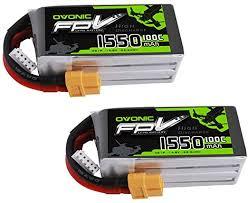 Ovonic 4S 1550mAh 100C 14.8V LiPo Battery Pack ... - Amazon.com