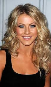 um length blonde loose curls