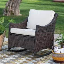c coast casco bay resin wicker rocking chair hayneedle outdoor wicker rocking chair set outdoor wicker